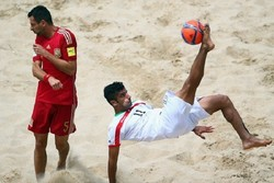 Iran wins title at 2nd Persian Beach Soccer Cup