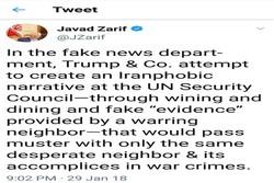 ظريف: ترامب وأنصاره يحاولون تخويف العالم من إيران