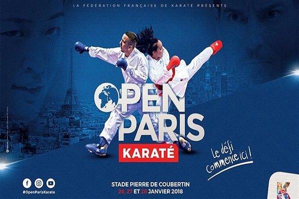 Iranian karate fighters bag 2 golds, 5 bronzes at Paris tourney