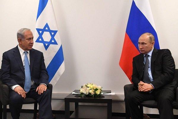 روسی صدر اور اسرائیلی وزیر اعظم کی باہمی ملاقات