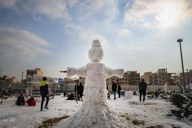 """Tahran'da """"Kardan Adam"""" festivali"""