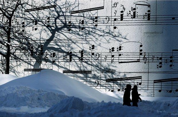 برف را با چه صدایی می شناسید؟