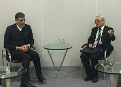 Jaberi Ansari meets with China's special envoy for Syria in Sochi