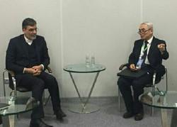 Cabiri Ensari Soçi'de Çin Heyeti Başkanı ile görüştü