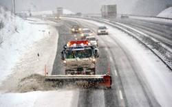 بارش برف جاده سایز