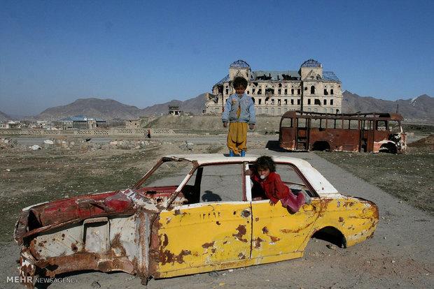 الحرب وأثارها المدمرة في مختلف المدن انحاء العالم