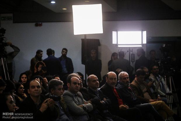 Press conference for 36th Fajr Film Festival