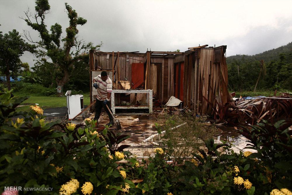 ۴ ماه بی برقی در پورتوریکو