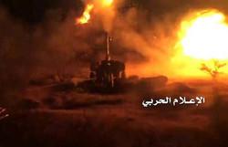 قصف صاروخي ومدفعي لتجمعات الجنود السعوديين ومرتزقتهم بنجران وعسير