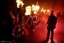 جشنواره وایکینگ ها در اسکاتلند