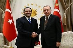 اردوغان و حریری