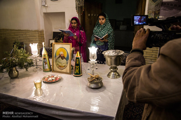 Zoroastrians celebrate their annual feast of Sadeh in Yazd