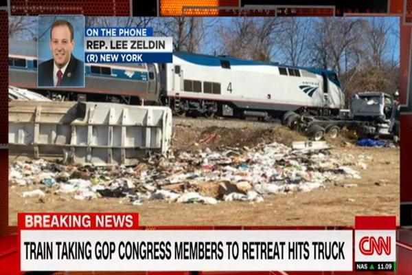 برخورد قطار حامل جمهوریخواهان با کامیون 3