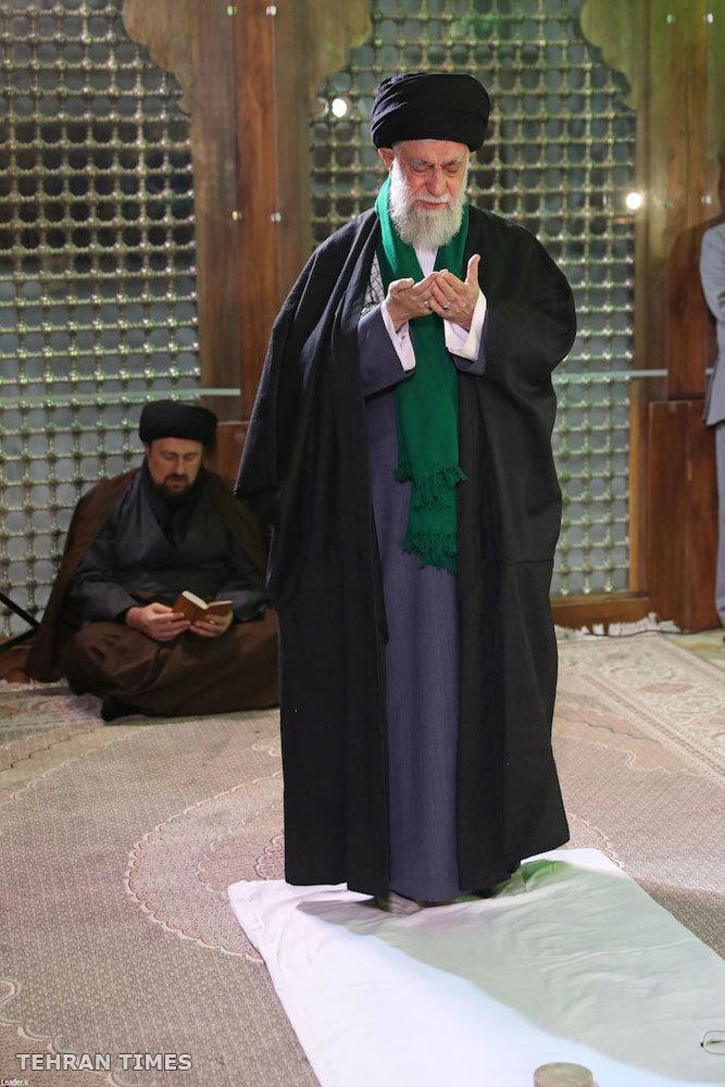 Non Muslim Perspective On The Revolution Of Imam Hussain: Ayatollah Khamenei Visiting Mausoleum Of