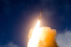 آزمایش موشکی آمریکا