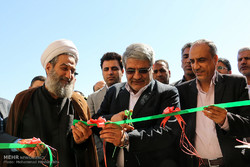 افتتاح طرح های عمرانی در شهر جدید علوی و شهرستان بندرخمیر