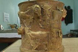 قدمت جام طلایی مکشوفه مشگینشهر ۳ هزار سال برآورد شد