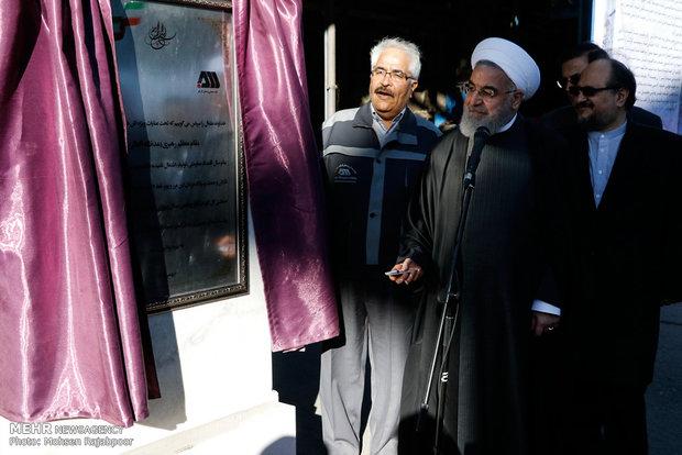 Ruhani'nin Kirman ziyaretinden kareler