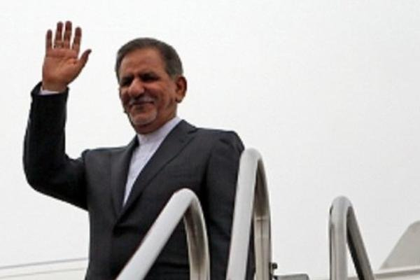 ایران کے نائب صدر عراق روانہ ہوگئے