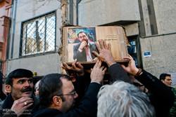 مراسم تشییع پیکر زندهیاد رضا مقدسی فعال رسانهای