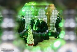 اعضاء مجمع تشخيص مصلحة النظام يجددون ميثاقهم مع مفجر الثورة الاسلامية في ايران / صور