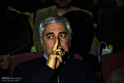 "Director Ebrahim Hatamikia attended a screening of his movie ""At Damascus Time"" during the 36th Fajr Film Festival at Mashhad's Atlas Cineplex on February 2, 2018. (Mehr/Ramin Saffari)"