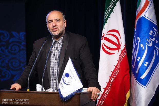 مراسم يوم الفضاء الوطني بإيران