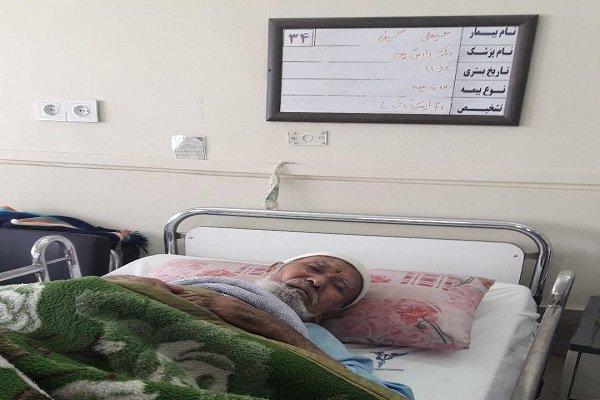 پیرمرد افغان به دلیل ناتوانی مالی در آستانه اخراج از بیمارستان