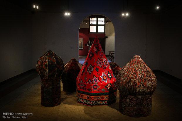 نمایشگاه دهمین جشنواره هنرهای تجسمی فجر