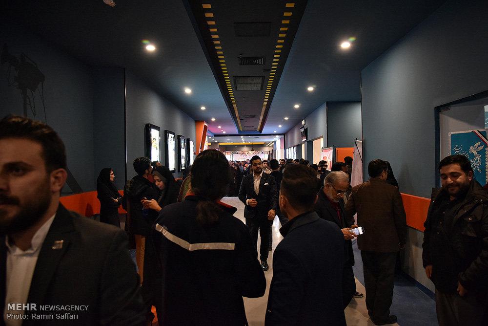 افتتاح الدورة الخامسة عشرة لمهرجان فجر السينمائي في مشهد