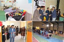 نمایشگاه چهره مردم بردخون افتتاح شد/ برگزاری مسابقه شطرنج جام فجر