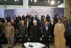 İslam İnkılabı'nın zafer yıldönümünde Ruhani'den önemli açılış töreni