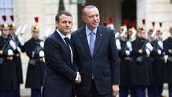 Erdogan, Macron discuss Afrin operation over phone