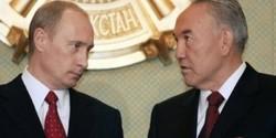 Nazarbayev,Putin