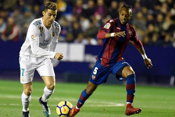 توقف رئال مادرید در زمین لوانته/ نوسانات پایان ناپذیر تیم زیدان