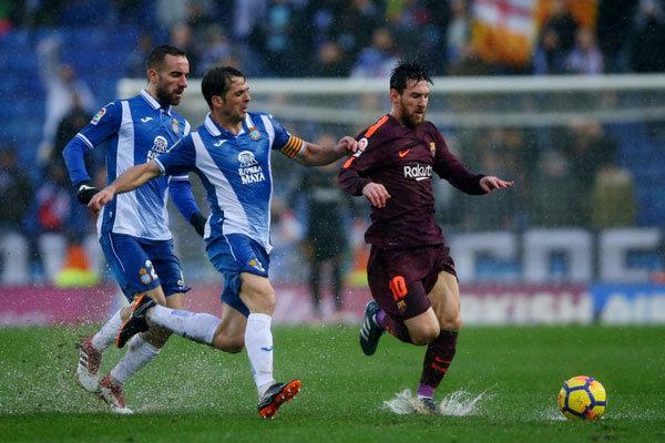 بارسلونا از شکست فرار کرد/ تساوی آبی اناریها در زمین اسپانیول
