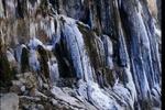 آبشار مارگون یخ زد