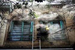 آتشسوزی خیابان هفتم تیر سمنان تلفات جانی نداشت