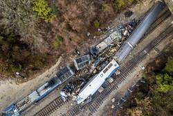 قتيلان وعشرات اصابة جراء تصادم قطارين في جنوب شرق الولايات المتحدة/ صور