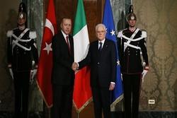 اٹلی اور ترکی کے صدور کی باہمی ملاقات