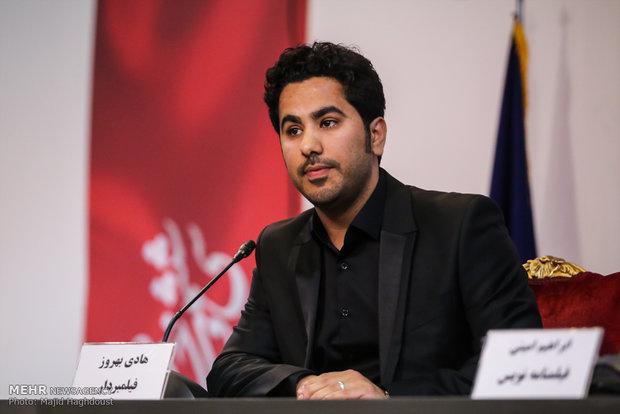 هادی بهروز در سومین روز از سی و ششمین جشنواره فیلم فجر