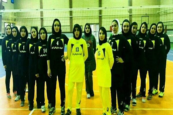 برترینهای لیگ والیبال بانوان استان کرمانشاه مشخص شدند