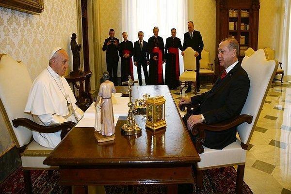 پاپ و اردوغان