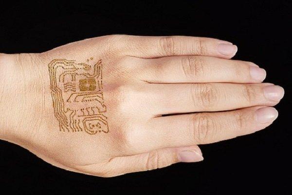 تولید حسگر قابل چسباندن به پوست دست برای مدت طولانی