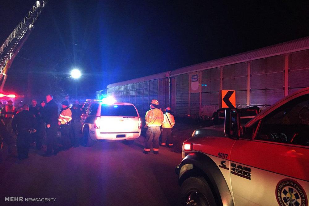 تصادف قطار در آمریکا