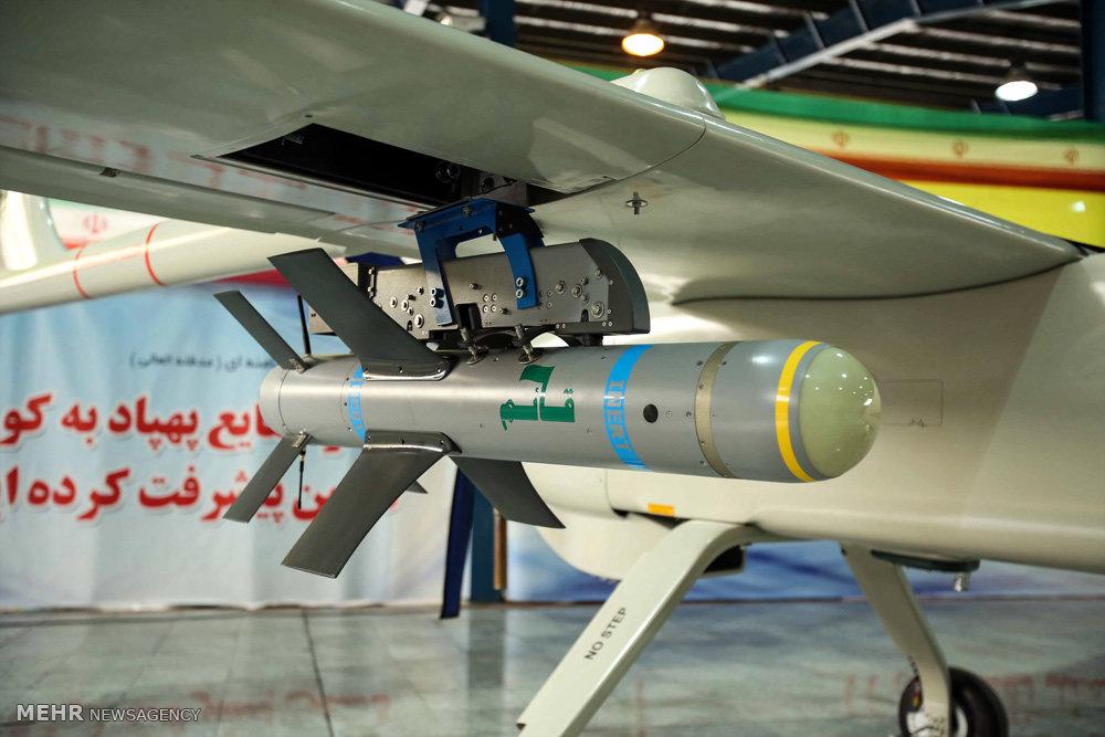 مهاجر ۶ ، سلاح مرگبار ایران در جنگ علیه تروریسم + عکس