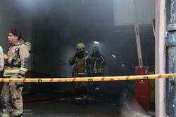 تخلیه و احتمال ریزش ساختمان وزارت نیرو در میدان ولیعصر
