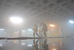 آتش سوزی ساختمان وزارت نیرو
