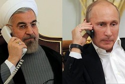Iranian, Russian presidents confer on regional issues on phone