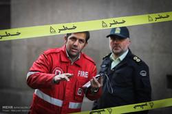 آتش ساختمان اداری وزارت نیرو بدون خسارت سنگین مهار شد